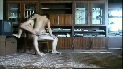 Couple having sex in the restroom - scene 10