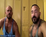 Muscled Bear Cum Soaked