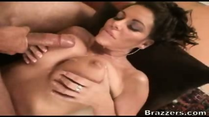 Busty MILF takes the cum in her boobs - scene 10