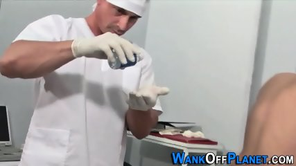 Twink Patient Spunked On