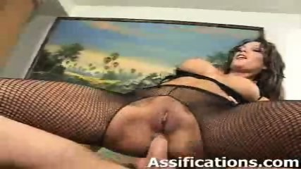 This chick gets her ass fucked intensely - scene 2