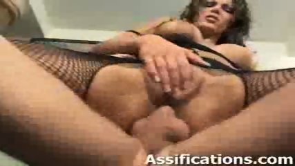 This chick gets her ass fucked intensely - scene 3