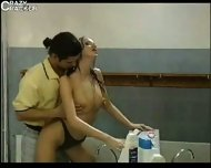2 Couples in the Bathroom - scene 2