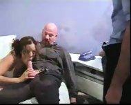 School Girl sucking Mr. Proper - scene 9
