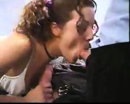 School Girl sucking Mr. Proper - scene 12