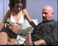 School Girl sucking Mr. Proper - scene 2