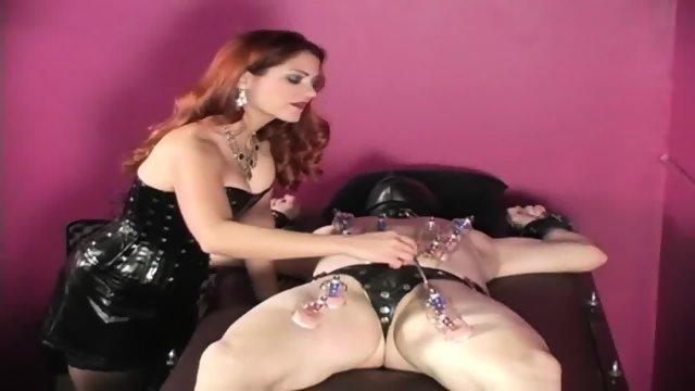 Goddess Vivian Strict Domme Punishing Slave