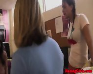 College Amateurs In Dorm At Oral Initiation