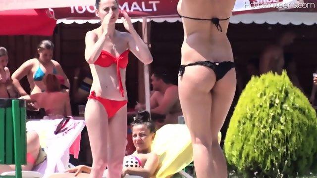 Topless Beach Teen Girls Voyeur Hd Video