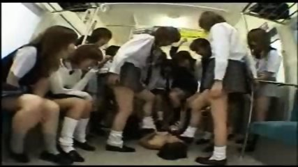 Surrounded by girls - scene 5