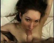 Horny Girl fucked and facialized - scene 9
