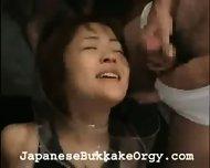 Bukkake from Japan - scene 11