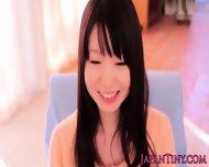 Tanlined Tiny Yumeno Aika Removes Lingerie