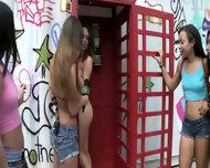 Cash Gets Teen Girls Naked