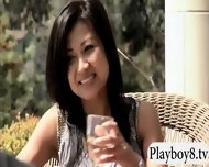 Singles Having Fun With Nasty Guys In Foursome Mansion