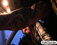Sexy Amateur Brunette Passenger Pounded To Off Her Fare