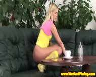 Piss Fetish Babe Uses Dildo While Peeing