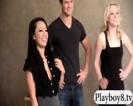 Four Singles Enjoyed Erotic Games In Foursome House