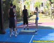 Allie Haze And Kirra Lynne Pussyfucking Games