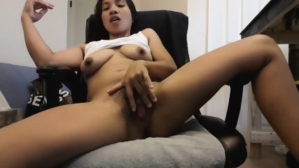 Exotic Brunette Plays With Pussy - scene 2