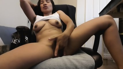 Exotic Brunette Plays With Pussy - scene 6