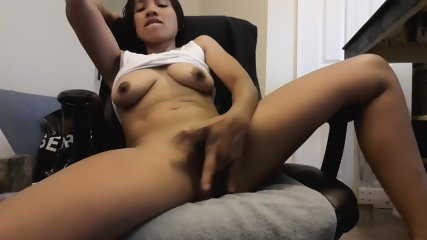 Exotic Brunette Plays With Pussy - scene 7