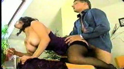Busty Brunette in Corset - scene 7
