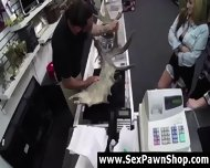 Cash Offer For Sex With Lesbian Amateurs At Pawn Shop