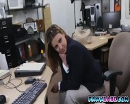 Foxy Lady With An Amazing And Juicy Ass That Made The Pawnman Crazy