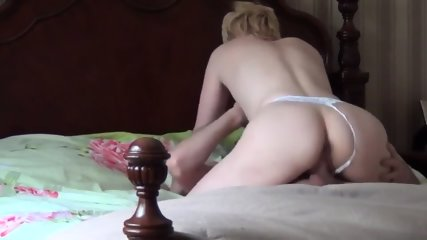 Sexy Blonde Gets Fucked Hard By Her Horny Boyfriend - scene 6