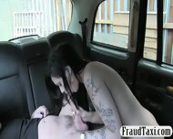 Sexy Passenger Screwed By Fraud Driver For A Free Fare