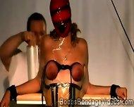 Hot Gingers Big Boobs Stands Cruel Bondage Session