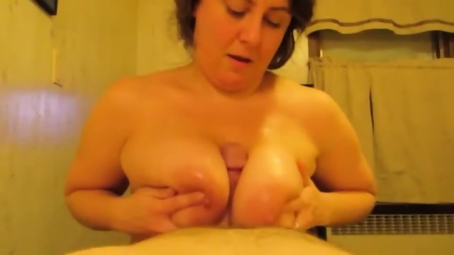 Busty Bbw Sucks Cock And Gets Her Huge Tits Fucked