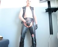 Finnish Leather Wanker 2