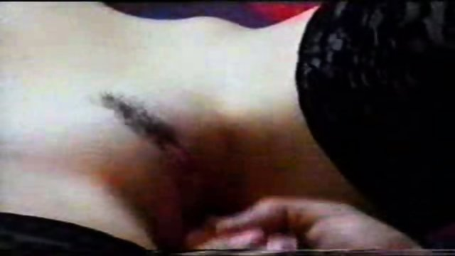 Blonde gets fingers and a dick in her pussy