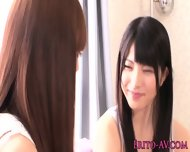 Young Japanese Lesbians Scissoring