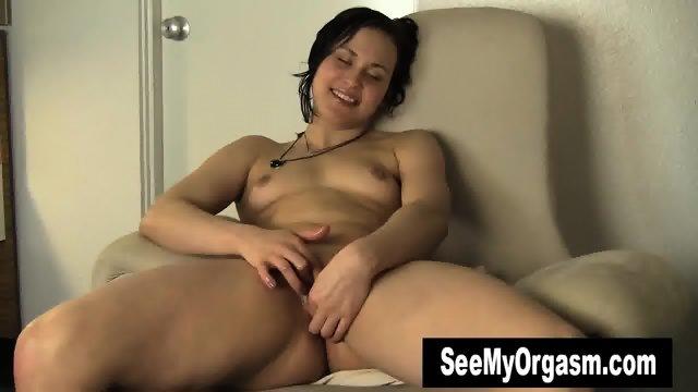 Sexy Constance Masturbating Her Slit