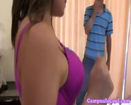 Perky Teen Coeds Have Some Groupsex Fun