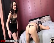 Cuckold Fetish Babe Fucks - scene 1