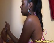 Bigass Black Amateur Tugging White Meat Pov - scene 4