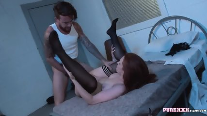 Evening With Redhead Slut - scene 9