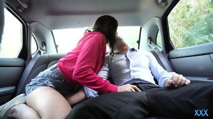 Thumbs backseat sex