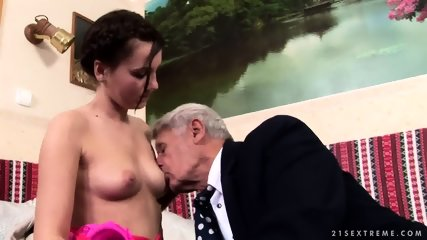 Mature Captain Fucks Attractive Brunette - scene 3