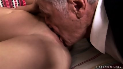 Mature Captain Fucks Attractive Brunette - scene 4