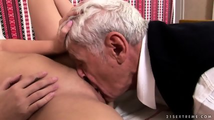 Mature Captain Fucks Attractive Brunette - scene 5