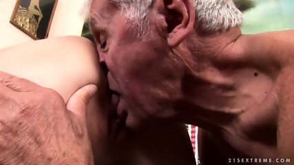 Mature Captain Fucks Attractive Brunette - scene 7
