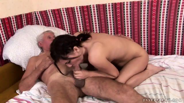 Mature Captain Fucks Attractive Brunette
