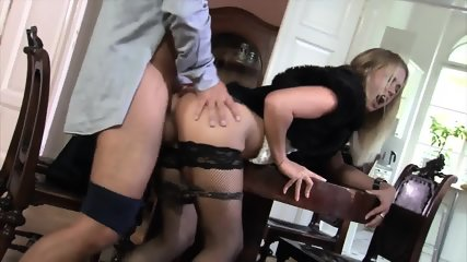 Blonde Slut With Stockings Takes Cock - scene 10