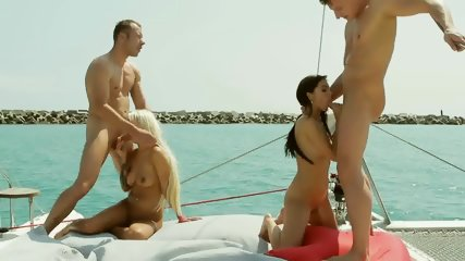 Two Couples On Boat - scene 8