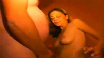 Blonde gets a good fuck and a nice load of sperm all over her skinny body - scene 12